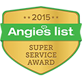 Angies List Super Service Award 2006-2015