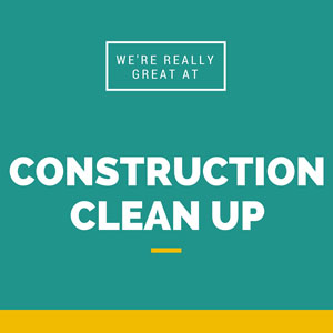 Construction clean up in Ashburn VA