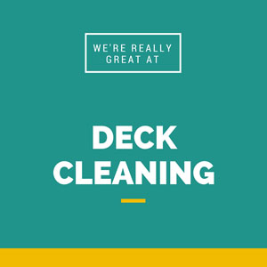 Deck cleaning in Ashburn VA