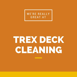 Trex deck cleaning in Ashburn VA