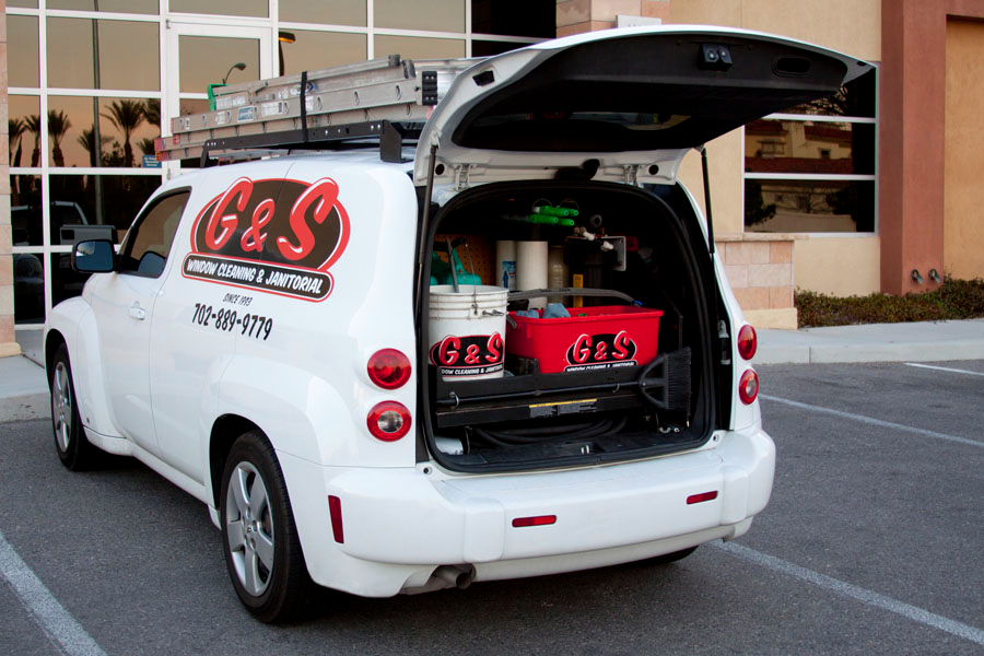 G and S Window Cleaning has all the tools to get your home windows pristine clean