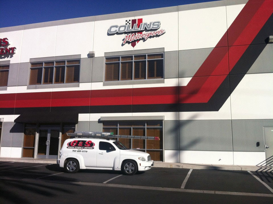 Make your business shine with sparkling clean windows.