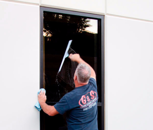 We get your windows sparkling clean.