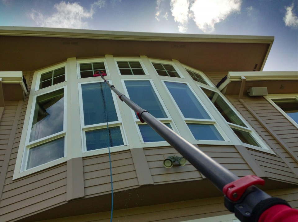 Pure Water Window Cleaning Pole