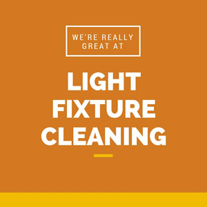 Light fixture cleaning in Ashburn VA