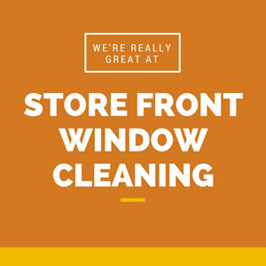 Store front window cleaning in Ashburn VA